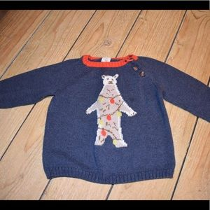 Tucker and Tate boys Christmas sweater
